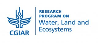 CGIAR Water, Land and Ecosystems logo